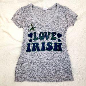 Notre Dame Love Irish Short Sleeve t-shirt small